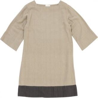 Laurence Dolige Beige Silk Dresses