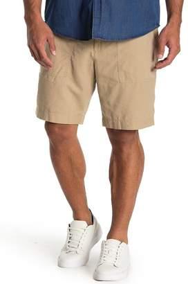 Joe Fresh Solid Linen Blend Shorts