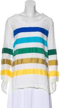 Lemlem Hooded Striped Top