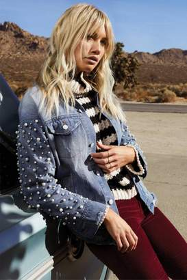 Elan International Jacket With Pearls