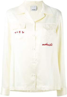 MHI embroidered back shirt