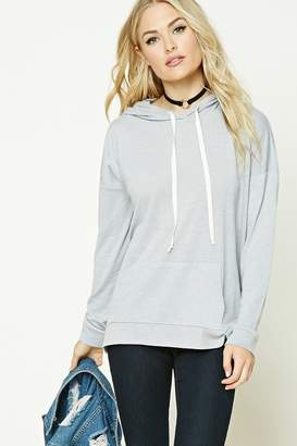 Forever 21 Contemporary Heathered Hoodie