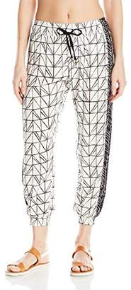 Dolce Vita Women's Rough and Tumble Abstract Geometric Beach Pant Cover up