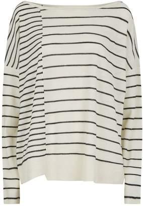 AllSaints Cali Stripe Sweater