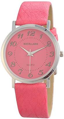Excellanc Women's Quartz Watch 195025500180 with Leather Strap