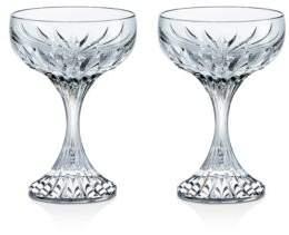 Baccarat Massena Champagne Coupe, Set of 2