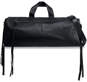 McQ Convertible Leather Weekend Bag