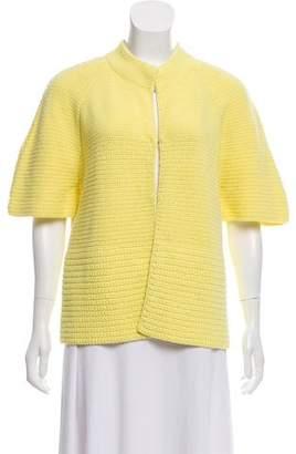Akris Short Sleeve Knit Top