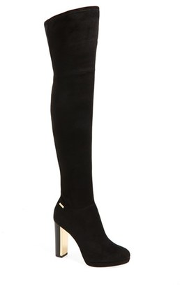 Women's Calvin Klein 'Polomia' Platform Over The Knee Boot $198.95 thestylecure.com