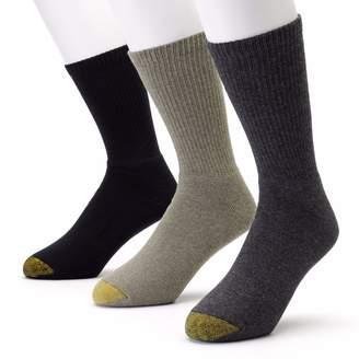 Gold Toe Goldtoe Men's GOLDTOE 3-pk. Uptown Crew Socks