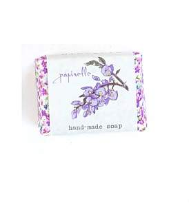 Papinelle Wisteria Large Hand Made Soap