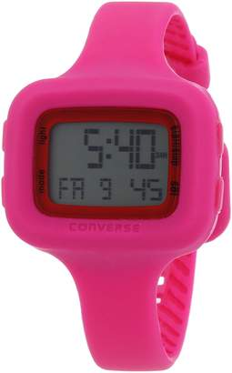 Converse VR025615 Understatement Classic Digital and Pink Silicone Strap Watch