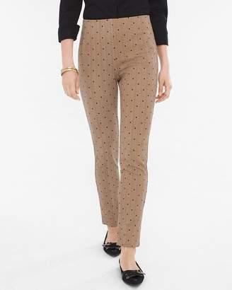 New So Slimming So Slimming Juliet Straight-Leg Herringbone Pants