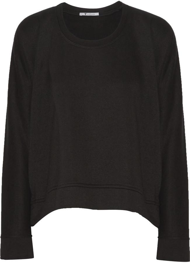 Alexander WangT by Alexander Wang Modal-blend French-terry sweatshirt