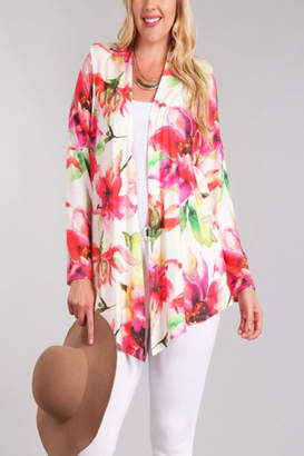 Chris & Carol Bright Floral Cardigan