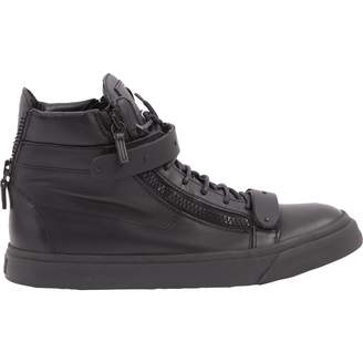 Giuseppe Zanotti Leather high trainers