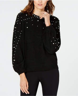 INC International Concepts I.n.c. Embellished Sweater