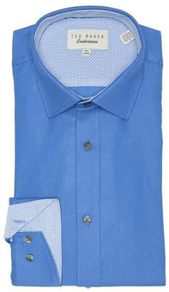 Ted Baker Agra Endurance Micro Dot Trim Fit Dress Shirt