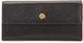 Rfid Business Chic Leather Checkbook