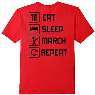 Eat Sleep March Repeat Band T-Shirts