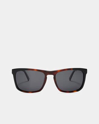 Ted Baker RECTO Rectangle tortoiseshell sunglasses
