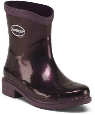 Galochas Low Metallic Rain Boot