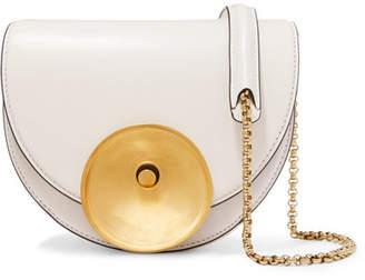 Marni Monile Small Leather Shoulder Bag - White