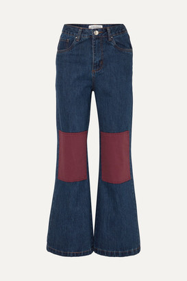 L.F.Markey Big Bells High-rise Wide-leg Jeans
