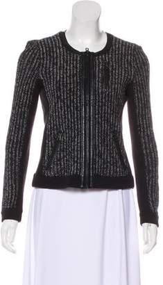 Rag & Bone Zip-Up Knit Jacket
