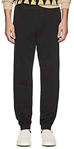 Tomas Maier MEN'S COTTON FRENCH TERRY JOGGER PANTS-BLACK SIZE M