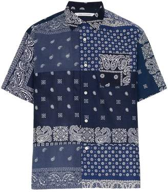 Children Of The Discordance floral and paisley printed cotton shirt