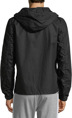 Antony Morato Men's Hooded Zip-Front Jacket, Black