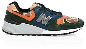 New Balance Men's 999 Made in USA Suede & Leather Sneakers