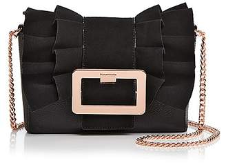Ted Baker Nerinee Frill Buckle Clutch