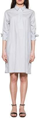 Bagutta Blue/white Nselene Striped Dress