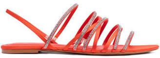 H&M Sandals with Rhinestones - Orange