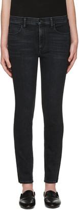Helmut Lang Black Skinny Jeans $295 thestylecure.com