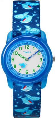 Timex Boys Blue Strap Watch-Tw7c135009j
