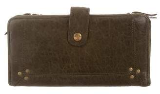Jerome Dreyfuss Distressed Leather Wallet