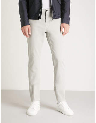 HUGO Stretch-cotton trousers