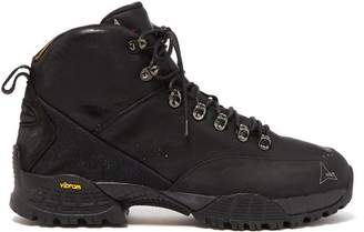 Roa - Andreas Leather Hiking Boots - Mens - Black