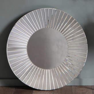 Primrose & Plum Round All Glass Wall Mirror