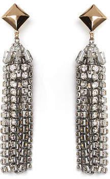BCBGMAXAZRIA Stone Tassel Earring