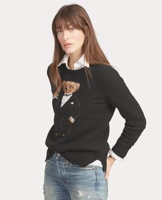 Ralph Lauren Martini Bear Wool Sweater