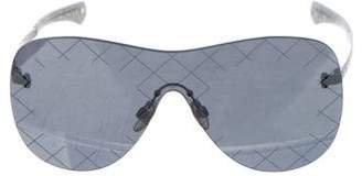 Chanel Shield Quilting Sunglasses