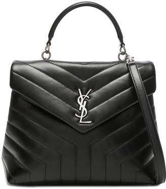 Saint Laurent Monogramme Loulou Top Handle Bag