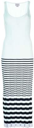 Jason Wu striped sweater maxi dress