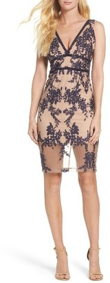 Women's Bardot Flora Embroidered Sheath Dress $139 thestylecure.com