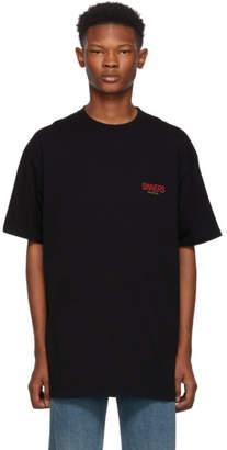Balenciaga Black Sinners Oversized T-Shirt