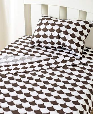 Living Textiles Lolli Living Toddler Sheet Set - Pillowcase, Flat Sheet, Fitted Sheet